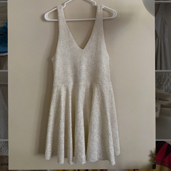 Urban Outfitters Dresses & Skirts - UO White Sparkle Short Party Dress